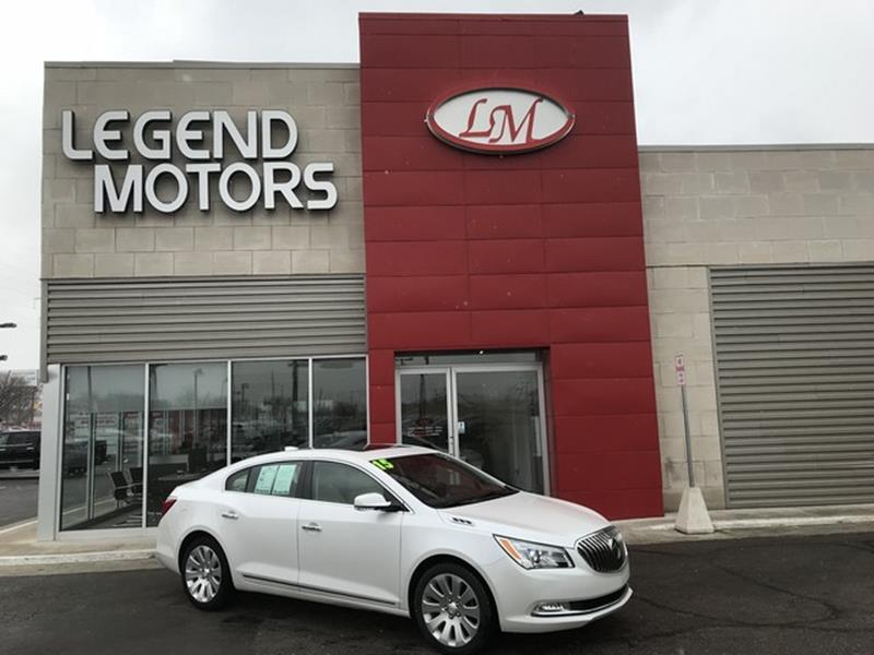 2015 Buick Lacrosse  Miles 36346Color WHITE Stock 8264C VIN 1G4GE5G38FF2