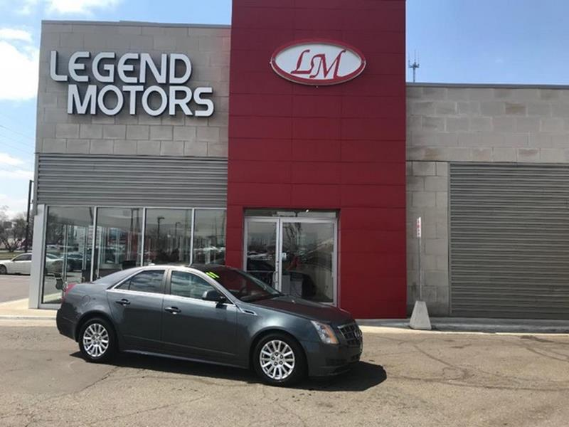 2011 Cadillac Cts  Miles 96477Color GREY Stock 8329C VIN 1G6DH5EY2B01136