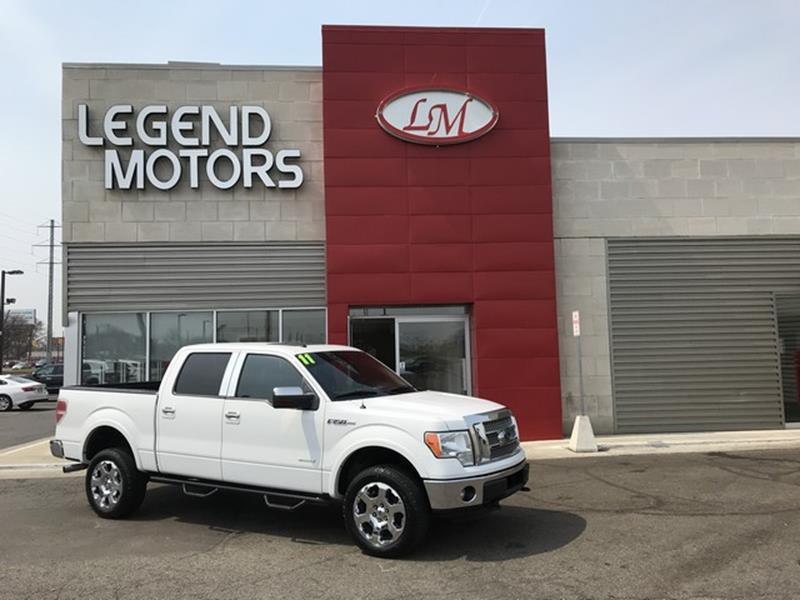 2011 Ford F-150  Miles 78019Color WHITE Stock 8299C VIN 1FTFW1ET5BFD23980