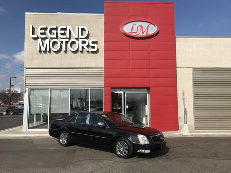 2011 Cadillac Dts  Miles 93603Color BLACK Stock 8308C VIN 1G6KH5E61BU135479