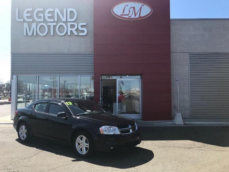 2013 Dodge Avenger  Miles 87417Color BLACK Stock 8317C VIN 1C3CDZCB2DN662176