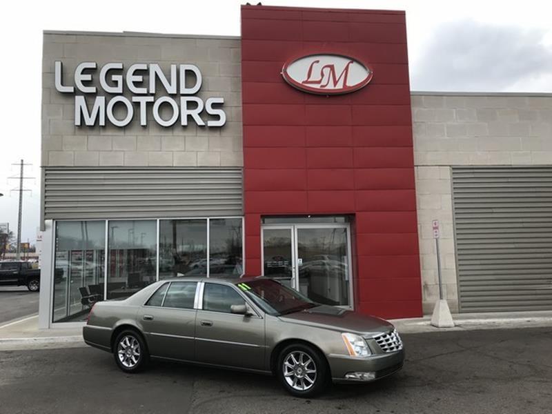 2011 Cadillac Dts  Miles 88707Color BROWN Stock 8303C VIN 1G6KD5E65BU142530