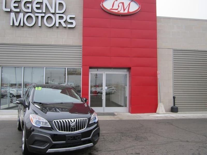 2015 Buick Encore  Miles 16365Color BLACK Stock 8309C VIN KL4CJASB1FB233777