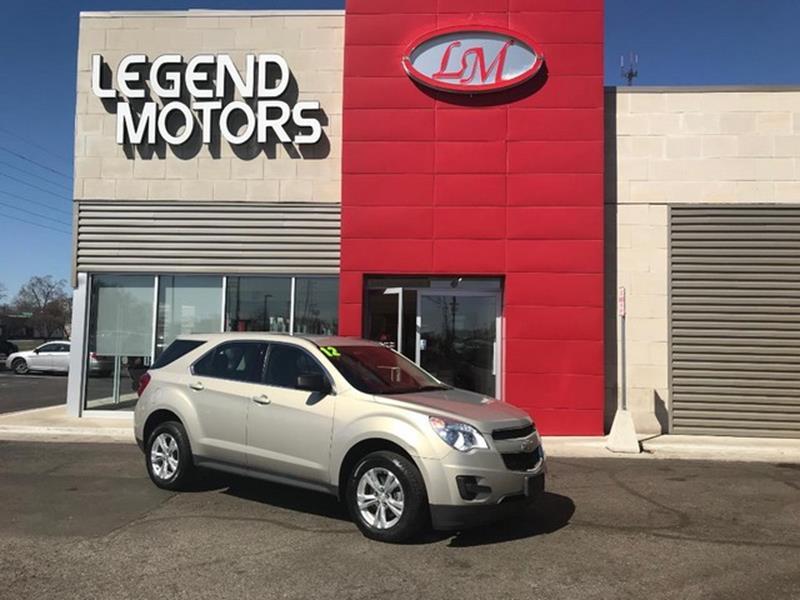 2012 Chevrolet Equinox  Miles 93165Color SILVER Stock 8339C VIN 2GNFLCEK6C6214538