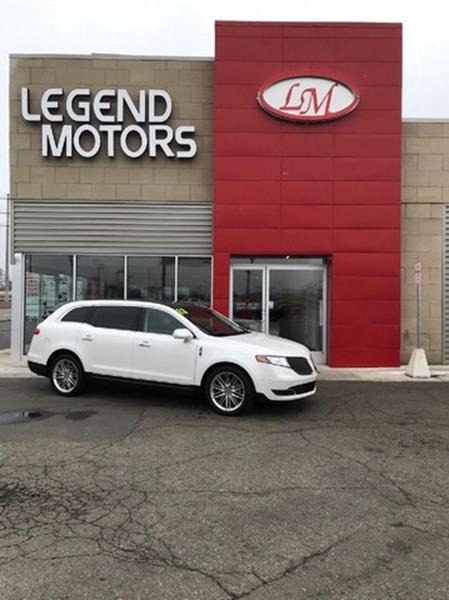 2013 Lincoln Mkt  Miles 64540Color WHITE Stock 8341C VIN 2LMHJ5AT0DBL56054