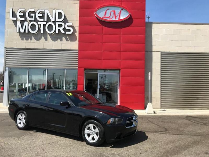 2012 Dodge Charger  Miles 59325Color BLACK Stock 8357C VIN 2C3CDXBG4CH185355