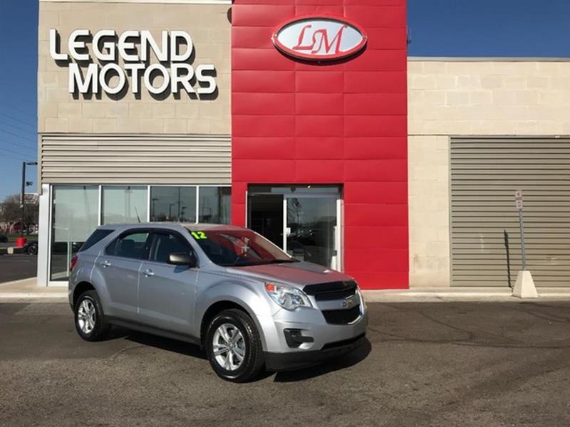 2012 Chevrolet Equinox  Miles 57361Color SILVER Stock 8369C VIN 2GNFLCEK5C6234294