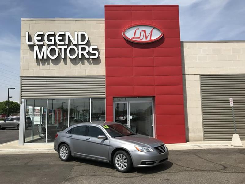 2013 Chrysler 200  Miles 79528Color GRAY Stock 8384C VIN 1C3CCBCGXDN629349