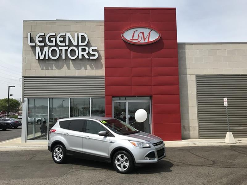 2014 Ford Escape  Miles 81157Color SILVER Stock 8387C VIN 1FMCU9GX1EUD32372
