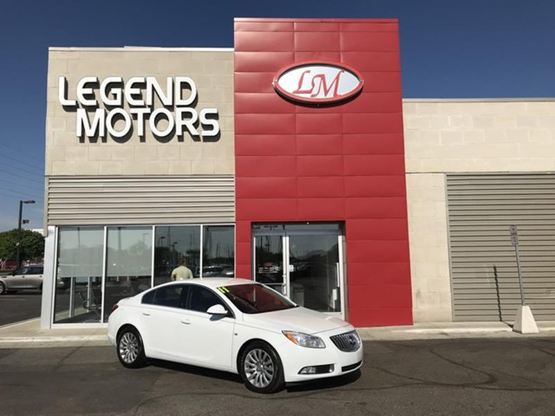 2011 Buick Regal  Miles 73323Color WHITE Stock 8392C VIN 2G4GN5EC9B9183404