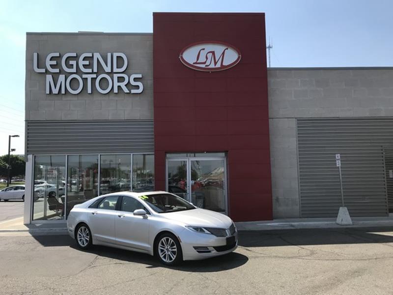 2014 Lincoln Mkz  Miles 94696Color SILVER Stock 8409C VIN 3LN6L2J92ER800201