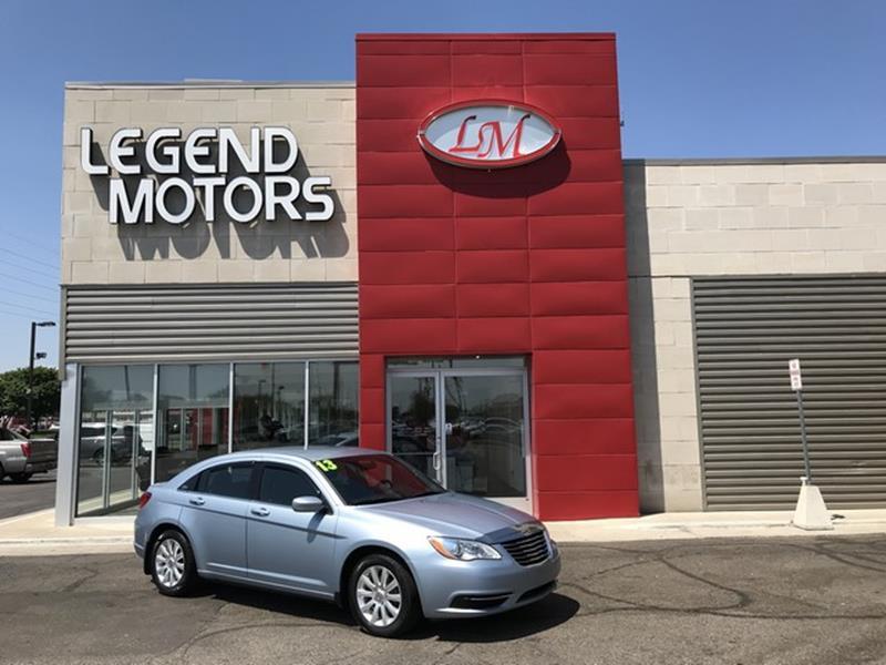 2013 Chrysler 200  Miles 76364Color BLUE Stock 8413C VIN 1C3CCBBB9DN550700