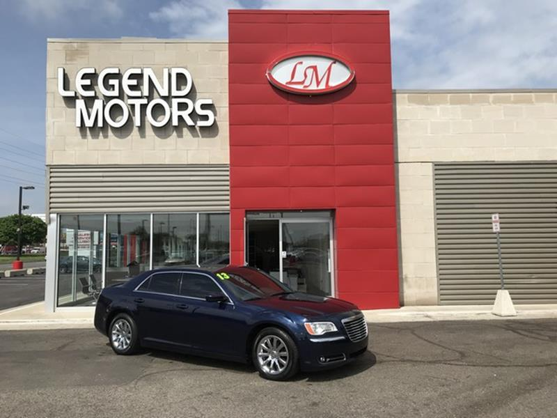2013 Chrysler 300  Miles 69943Color BLUE Stock 8414C VIN 2C3CCAAG6DH552842