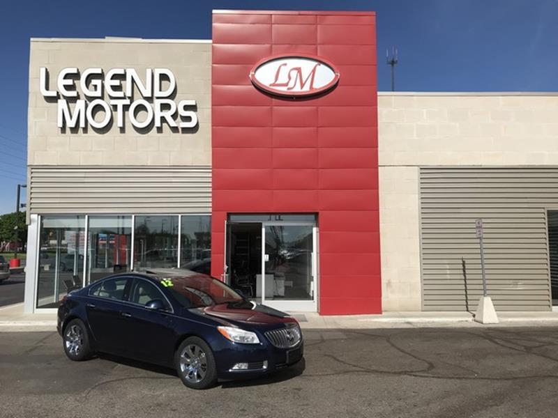 2012 Buick Regal  Miles 56193Color BLUE Stock 8417C VIN 2G4GS5EK8C914689