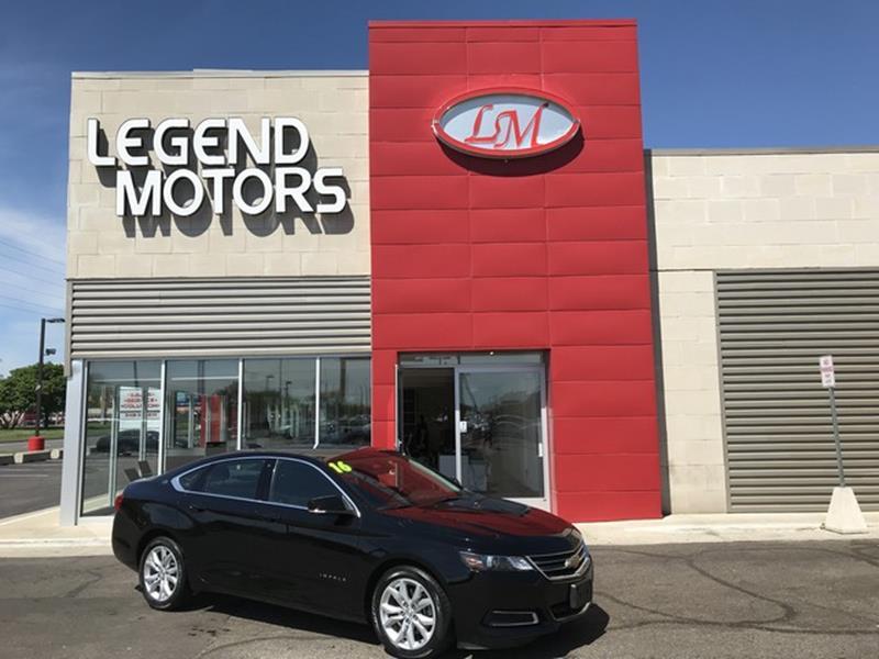2016 Chevrolet Impala  Miles 41726Color BLACK Stock 8422C VIN 2G1115S3XG9151197