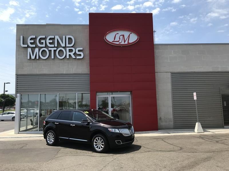 2013 Lincoln Mkx  Miles 80067Color BROWN Stock 8433C VIN 2LMDJ8JK1DBL05279