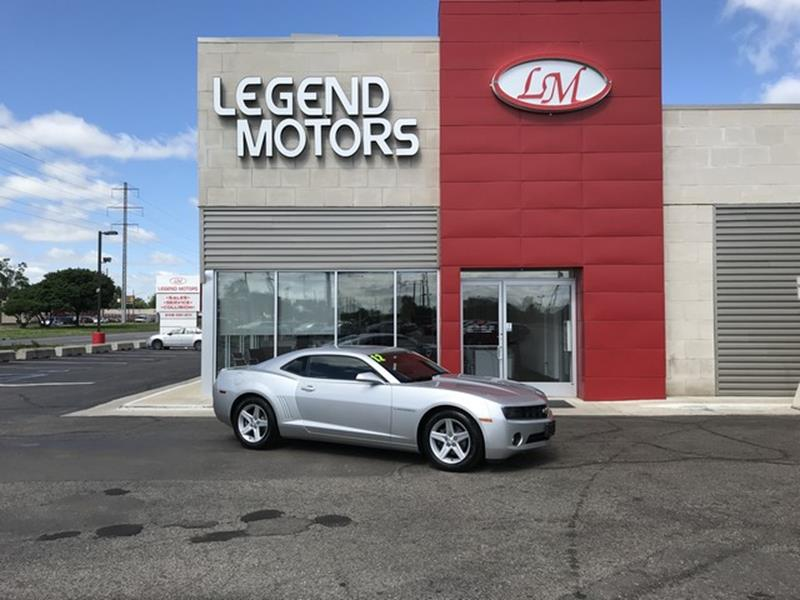 2012 Chevrolet Camaro  Miles 73558Color SILVER Stock 8436C VIN 2G1FB1E31C9197535