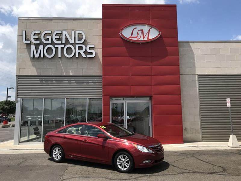 2013 Hyundai Sonata  Miles 89105Color RED Stock 8445C VIN 5NPEB4AC6DH636365
