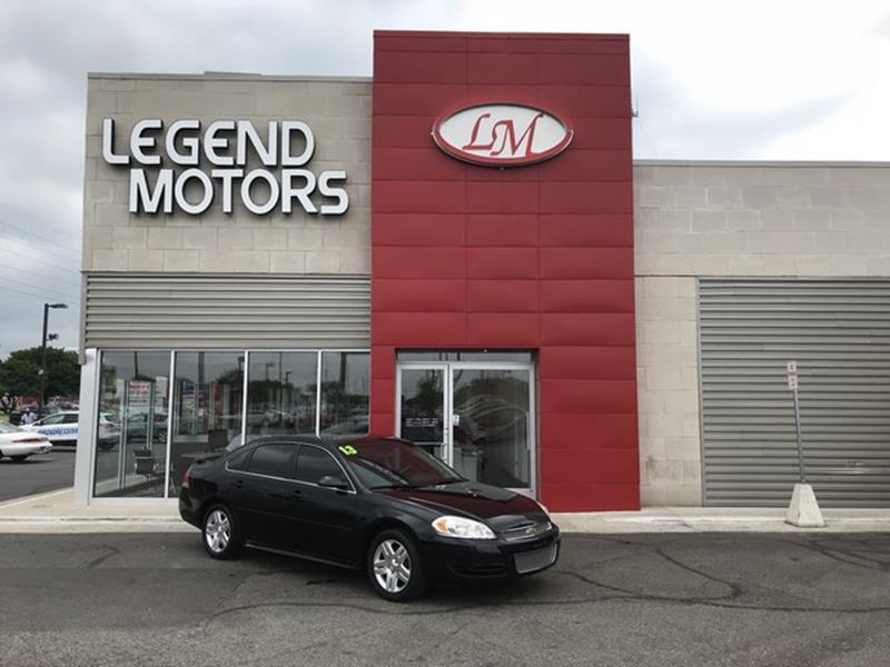 2013 Chevrolet Impala  Miles 92671Color BLACK Stock 8447C VIN 2G1WG5E39D1184704