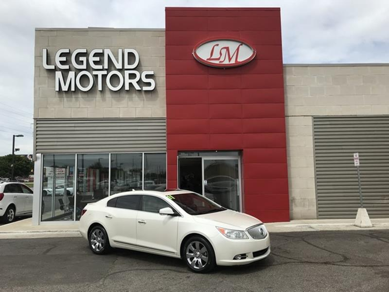 2011 Buick Lacrosse  Miles 83389Color WHITE Stock 8448C VIN 1G4GC5EDXBF384024