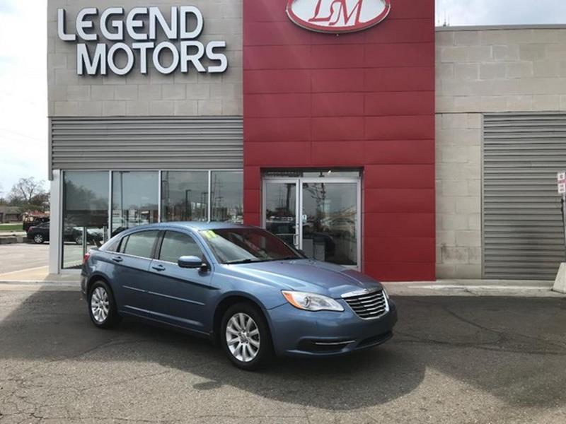 2011 Chrysler 200  Miles 59876Color BLUE Stock 8376C VIN 1C3BC4FB0BN550731