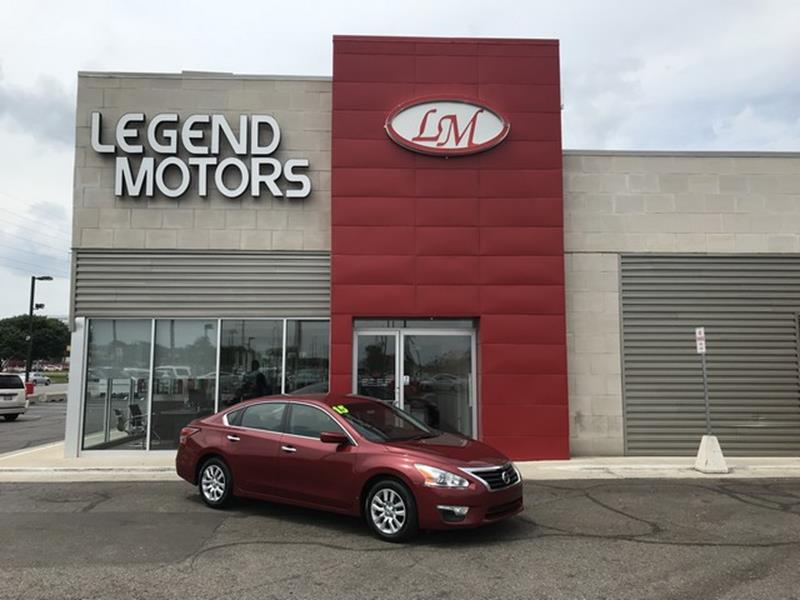 2015 Nissan Altima  Miles 88250Color RED Stock 8456C VIN 1N4AL3APXFN303099