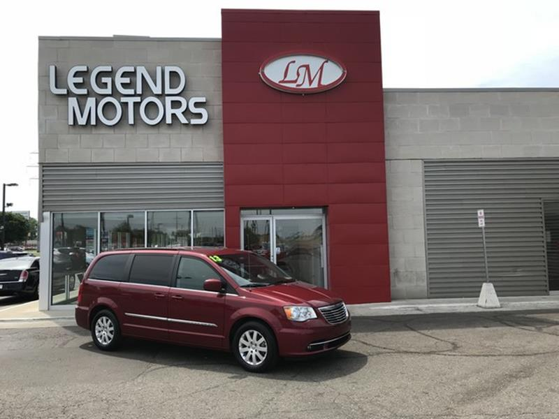 2015 Chrysler Town  Country  Miles 84646Color MAROON Stock 8468C VIN 2C4RC1BG8FR594866
