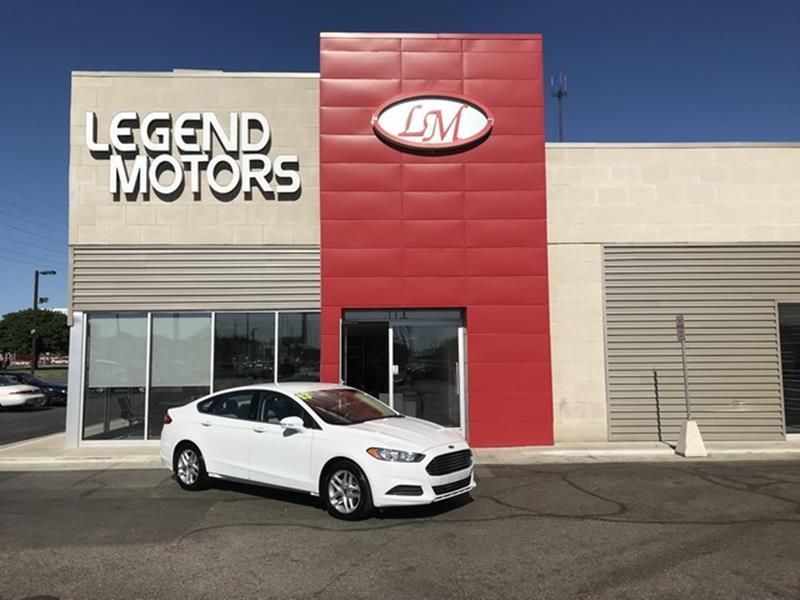 2013 Ford Fusion  Miles 78394Color WHITE Stock 8465C VIN 3FA6P0HR4DR269719