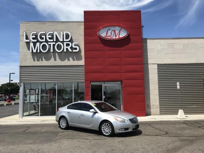 2011 Buick Regal  Miles 56505Color SILVER Stock 8490C VIN W04GR5EC6B1002671