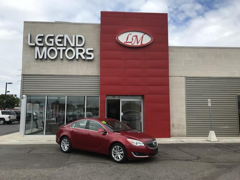 2015 Buick Regal  Miles 31855Color RED Stock 8488C VIN 2G4GK5EX8F9139072