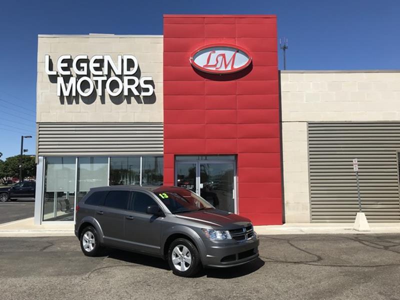 2013 Dodge Journey  Miles 70411Color GRAY Stock 8500C VIN 3C4PDCABXDT626460
