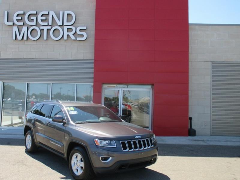 2014 Jeep Grand Cherokee  Miles 53578Color GRAY Stock 8525C VIN 1C4RJFAG