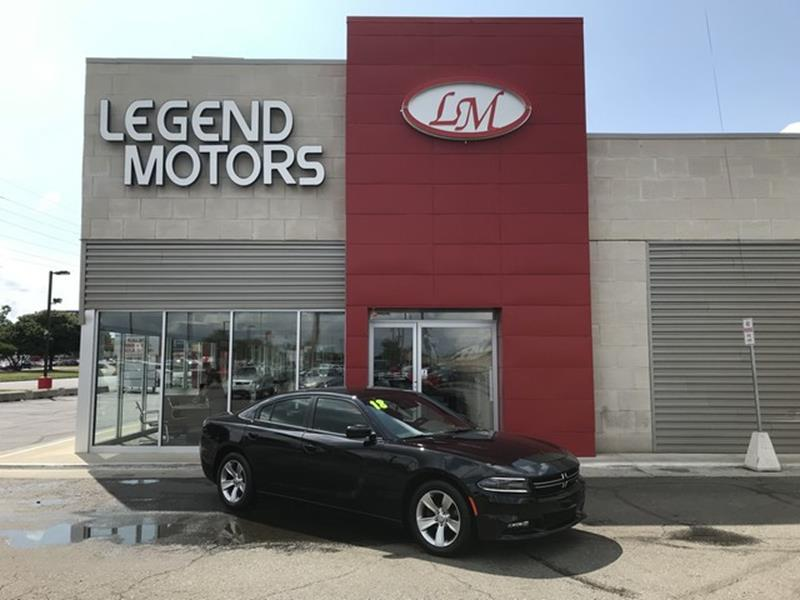 2018 Dodge Charger  Miles 15015Color BLACK Stock 8538C VIN 2C3CDXHG6JH175768