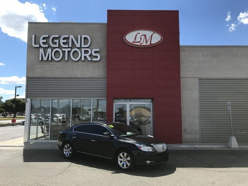 2012 Buick Lacrosse car for sale in Detroit