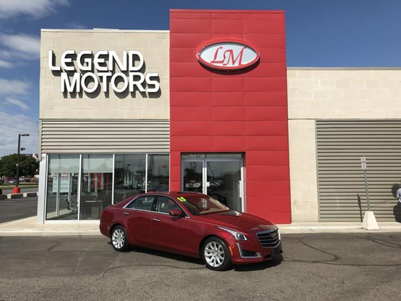 2015 Cadillac Cts  Miles 43432Color RED Stock 8553C VIN 1G6AX5SX6F0115995