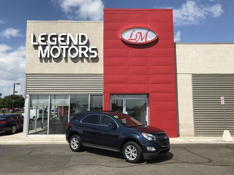 2017 Chevrolet Equinox  Miles 56985Color BLUE Stock 8555C VIN 2GNALCEK8H6192477