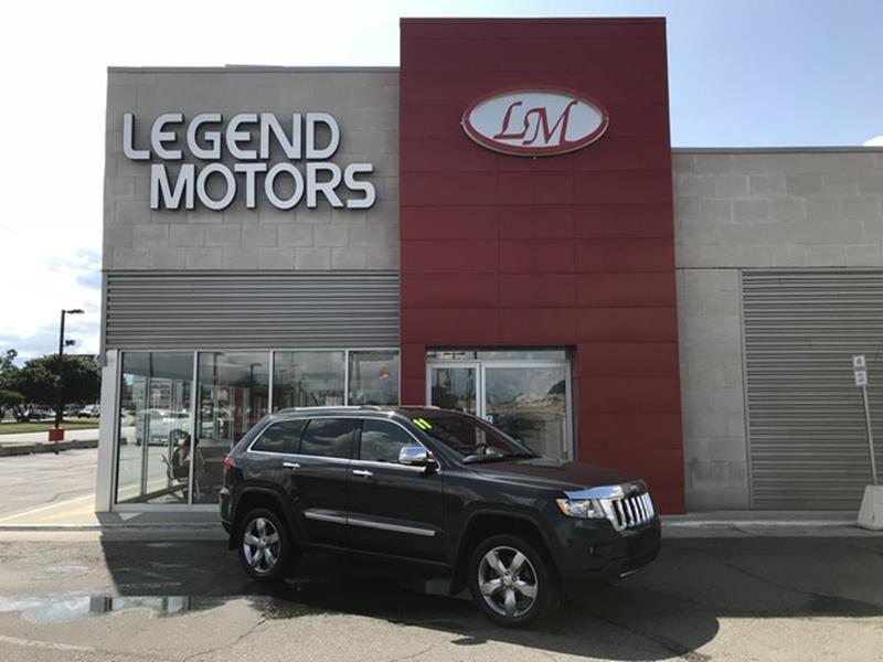 2011 Jeep Grand Cherokee  Miles 70869Color GRAY Stock 8559C VIN 1J4RR6GT9BC605551