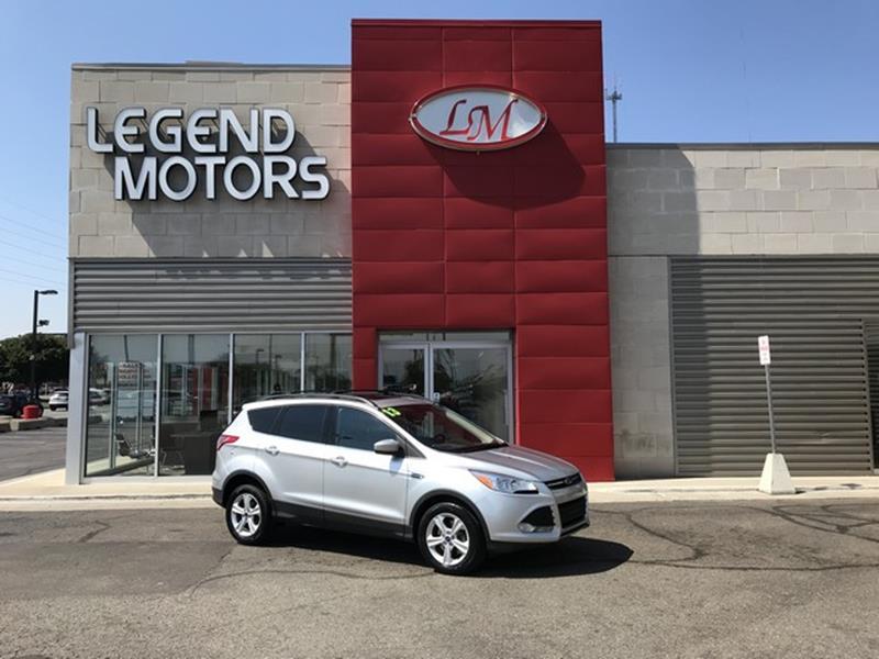 2013 Ford Escape  Miles 120857Color SILVER Stock 8528C VIN 1FMCU9GX8DUB59237