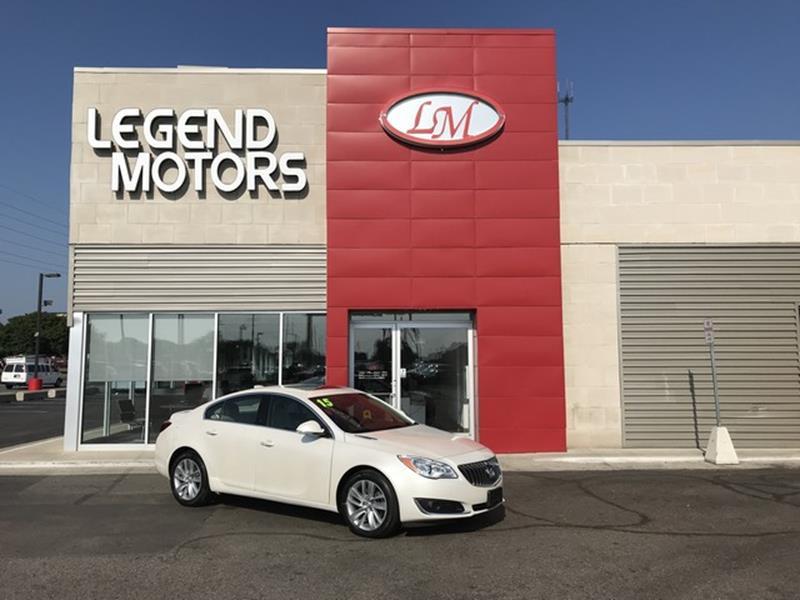2015 Buick Regal  Miles 28529Color WHITE Stock 8575C VIN 2G4GP5EX0F9180569