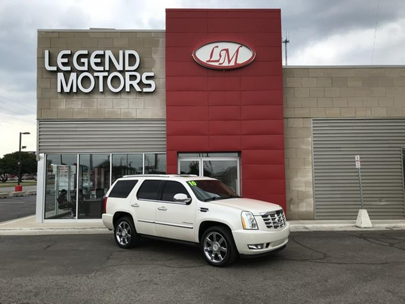 2010 Cadillac Escalade  Miles 84579Color WHITE Stock 8576C VIN 1GYUKCEF9AR287419