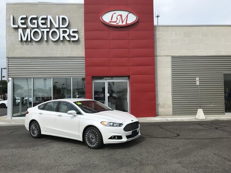 2016 Ford Fusion  Miles 74391Color WHITE Stock 8584C VIN 3FA6P0K98GR1775