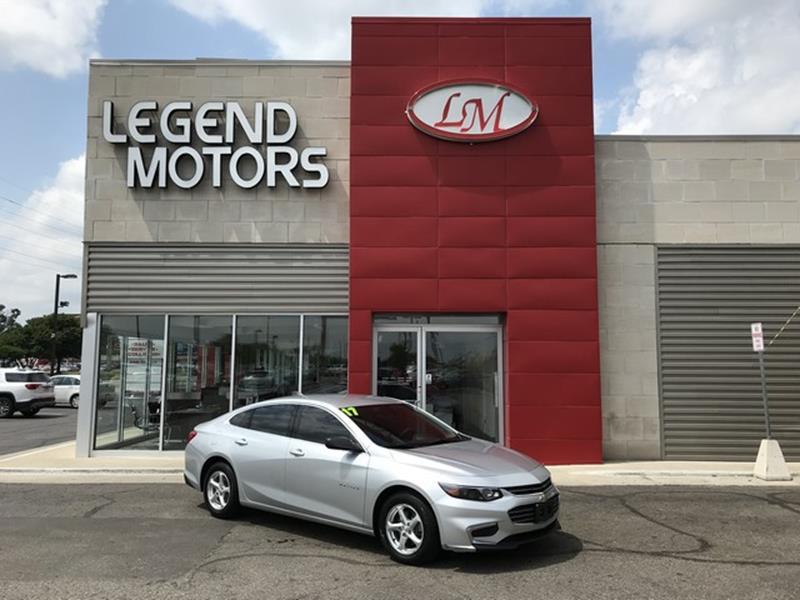 2017 Chevrolet Malibu  Miles 38343Color SILVER Stock 8586C VIN 1G1ZB5ST7HF206312