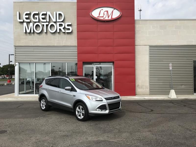 2013 Ford Escape  Miles 86518Color SILVER Stock 8589C VIN 1FMCU0HXXDUC51279