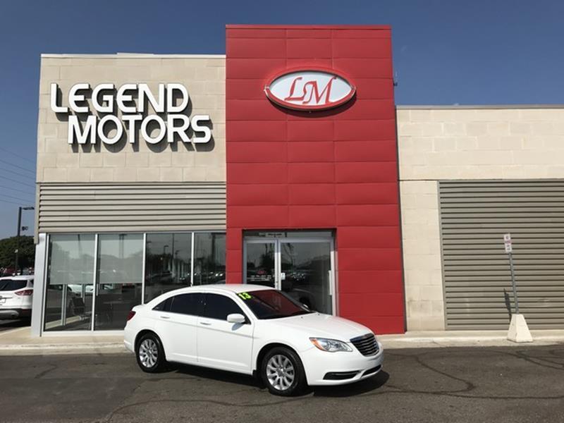 2013 Chrysler 200  Miles 84400Color WHITE Stock 8592C VIN 1C3CCBBBXDN543