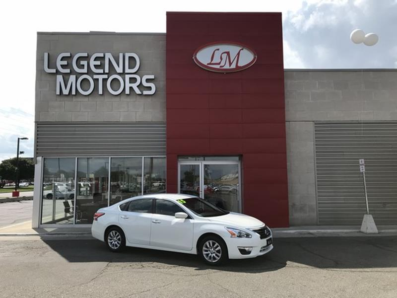 2015 Nissan Altima  Miles 85494Color WHITE Stock 8598C VIN 1N4AL3APXFC252294