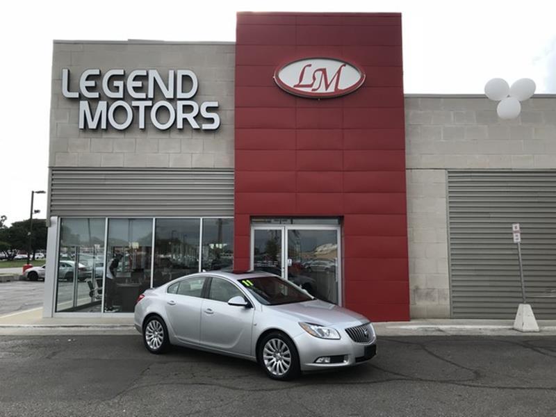 2011 Buick Regal  Miles 51183Color SILVER Stock 8597C VIN W04GX5GV7B1096676