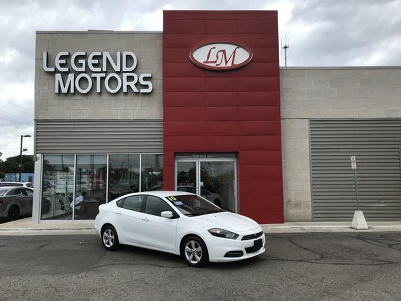 2015 Dodge Dart  Miles 84722Color WHITE Stock 8601C VIN 1C3CDFBB2FD180347