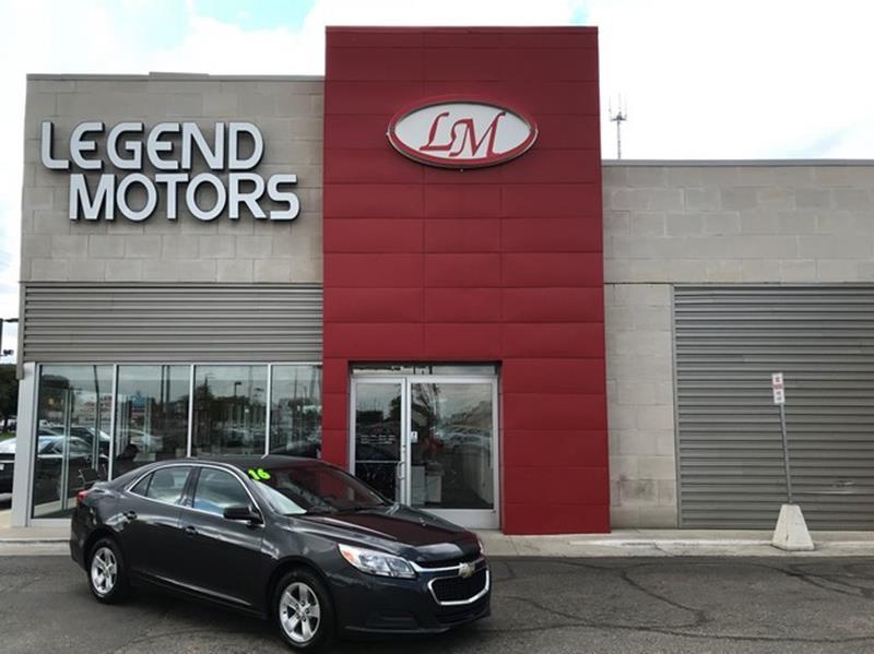 2016 Chevrolet Malibu Limited  Miles 87123Color GRAY Stock 8690C VIN 1G1