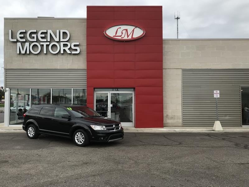 2013 Dodge Journey  Miles 108831Color BLACK Stock 8702C VIN 3C4PDDBG6DT5