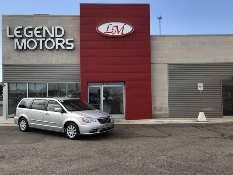 2012 Chrysler Town & Country car for sale in Detroit